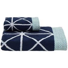 Como Hand Towel 36x70cm Navy