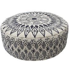 Black Gypsy Floor Cushion
