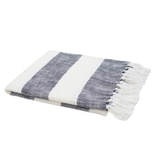Atwell Fringed Cotton Throw