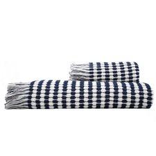 Corsica Woven Cotton Bath Towel