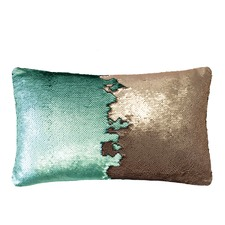 Sequin Shimmer Rectangle Cushion