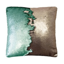 Sequin Shimmer Square Cushion