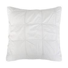Ruched Kalani Cotton European Pillowcase