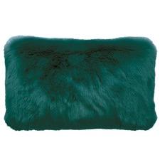 Rectangular Faux Fur Cushion