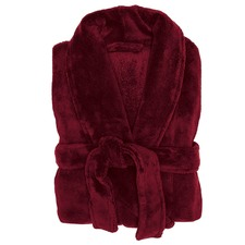 Merlot Microplush Bath Robe