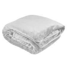 Silver Ultraplush Blanket