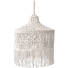 Ivory Gili Macramé Pendant Light Shade