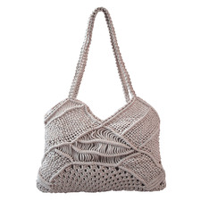 Pebble Macramé Liana Beach Bag