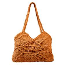 Turmeric Macramé Liana Beach Bag