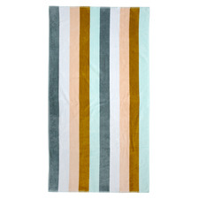 Multi-Coloured Conto Cotton Beach Towel