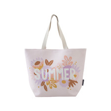 Printed Summer Beach Tote