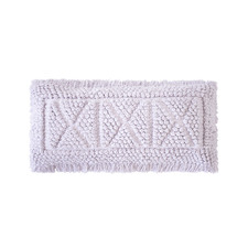 Lilac Asscher Rectangular Cotton Cushion