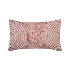 Rosewater Dot Mikki Cushion