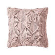 Rosewater Pebble Vega Cotton Cushion