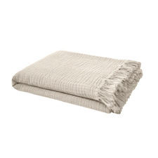 Pebble Lys Cotton Throw