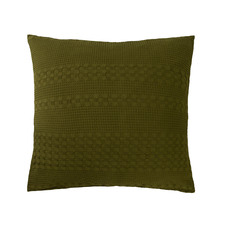 Green Heath Cotton European Pillowcase