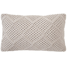 Pebble Anka Rectangular Cotton Cushion