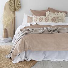 Pink Sloane Cotton Corduroy Quilt Cover Set