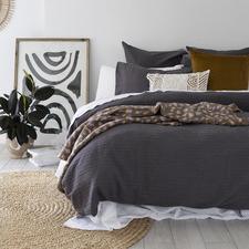 Eucla Cotton Jacquard Quilt Cover Set