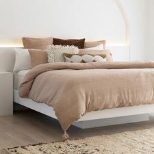 Juna Woven Cotton Quilt Cover Set