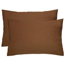 Rooney French Linen Standard Pillowcases (Set of 2)