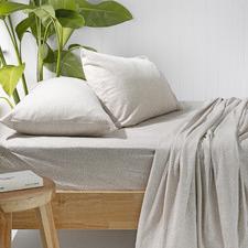 Spot Cotton Flannelette Sheet Set