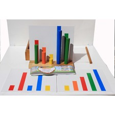 Pick-a-peg Learning Rod