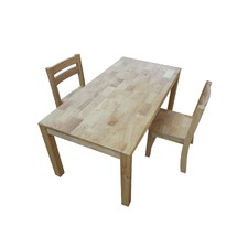 Rectangular Table and 2 Chairs Set