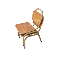 WPC Top Steel Chair (Set of 2)