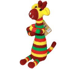 Crocheted Giraffe Toy