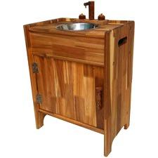 Kids' Hanoi Natural Wooden Sink