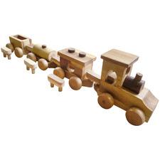 Wooden Cargo Train Toy