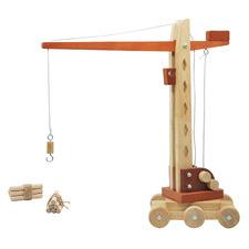 Q Toys Wooden Tower Crane