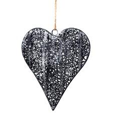 Metal Heart Hanging Decor