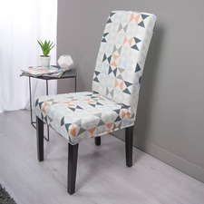 Surefit Statement Print Hugo Dining Chair Cover
