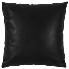 Colby Faux Leather Cushion Cover
