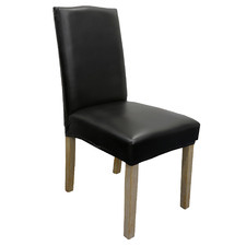 Colby Faux Leather Dining Chair Cover