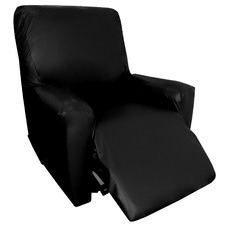 Colby Faux Leather Recliner Cover