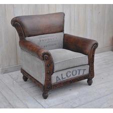 Large Alcott Vintage Arm Chair