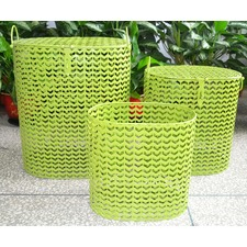 Iron Green Baskets