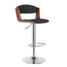 Roxy Walnut Adjustable Barstool