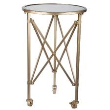 Tennyson Side Table on Wheels