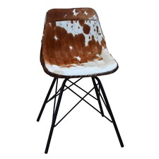 Eames Style Cow Hide Chair