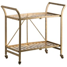 Cleo Iron Bar Cart