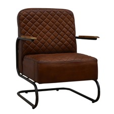 Di Maggio Modern Leather Armchair