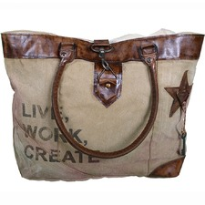 Live Work Create Bag