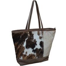 Macher Cow Hide Boat Handbag