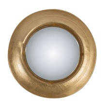 Golden Eye Round LED Mirror