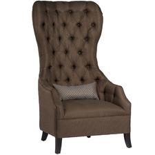 Brown Throne Armchair