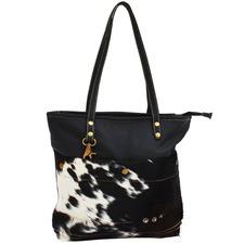 Lewis Cow Hide Tote Bag
